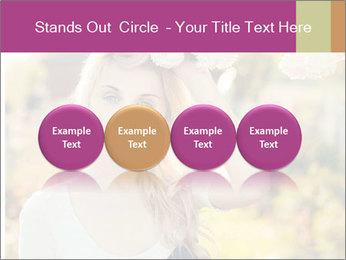 Beautiful blonde PowerPoint Template - Slide 76