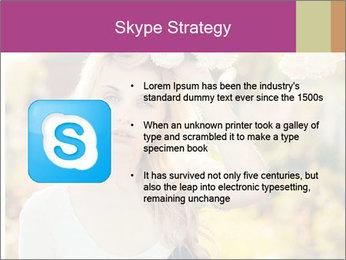 Beautiful blonde PowerPoint Template - Slide 8