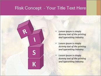 Beautiful blonde PowerPoint Template - Slide 81