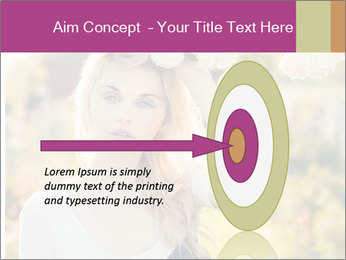 Beautiful blonde PowerPoint Template - Slide 83