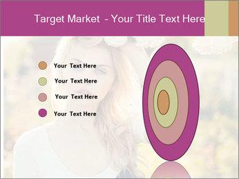 Beautiful blonde PowerPoint Template - Slide 84
