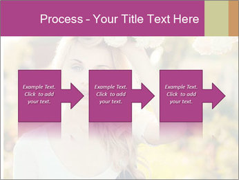 Beautiful blonde PowerPoint Templates - Slide 88