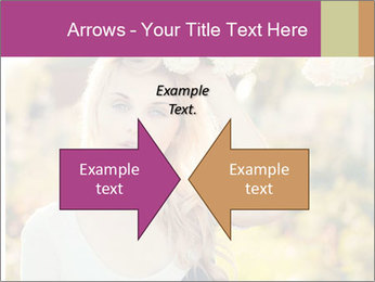 Beautiful blonde PowerPoint Templates - Slide 90