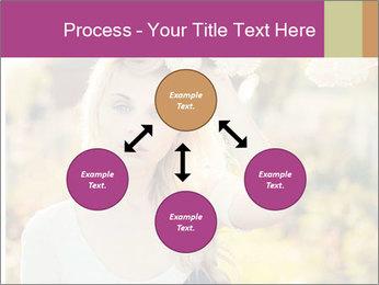 Beautiful blonde PowerPoint Template - Slide 91