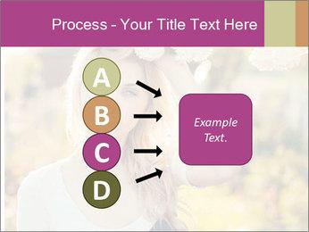 Beautiful blonde PowerPoint Template - Slide 94