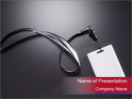 Exccess card PowerPoint Template