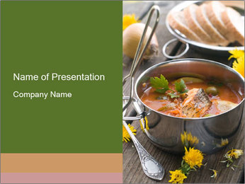 Picnic PowerPoint Template - Slide 1