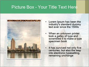 Skyline in California PowerPoint Template - Slide 13