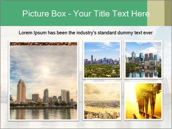 Skyline in California PowerPoint Template - Slide 19