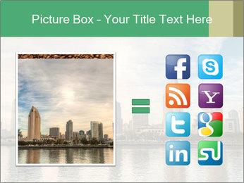 Skyline in California PowerPoint Template - Slide 21