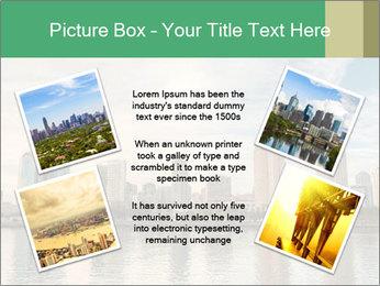 Skyline in California PowerPoint Template - Slide 24