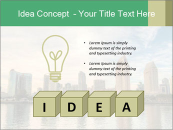 Skyline in California PowerPoint Template - Slide 80