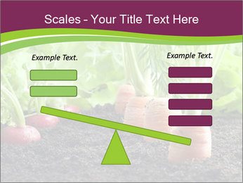 Vegetables PowerPoint Template - Slide 89