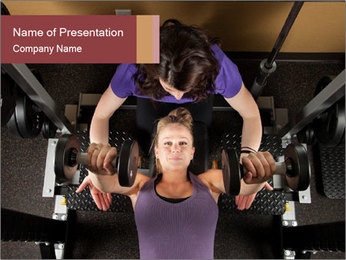 Personal Trainer PowerPoint Template