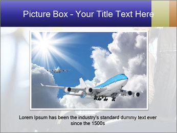 Woman working PowerPoint Template - Slide 16