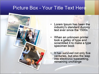 Woman working PowerPoint Template - Slide 17