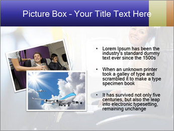 Woman working PowerPoint Template - Slide 20