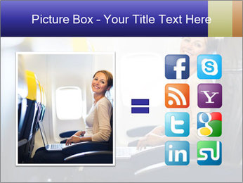 Woman working PowerPoint Template - Slide 21