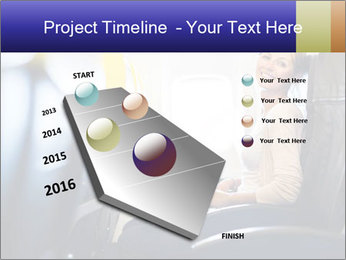 Woman working PowerPoint Template - Slide 26