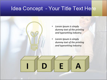 Woman working PowerPoint Template - Slide 80
