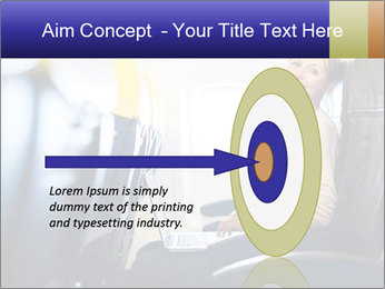 Woman working PowerPoint Template - Slide 83
