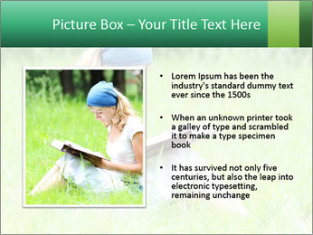 Young girl PowerPoint Template - Slide 13
