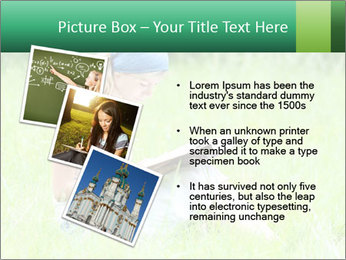 Young girl PowerPoint Template - Slide 17