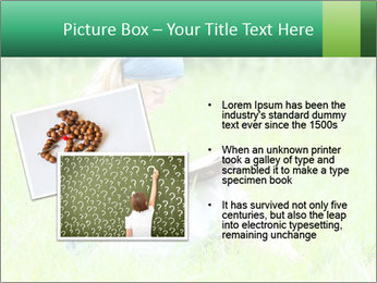 Young girl PowerPoint Template - Slide 20
