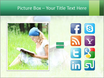 Young girl PowerPoint Template - Slide 21