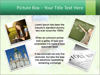 Young girl PowerPoint Template - Slide 24
