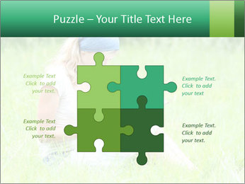 Young girl PowerPoint Template - Slide 43