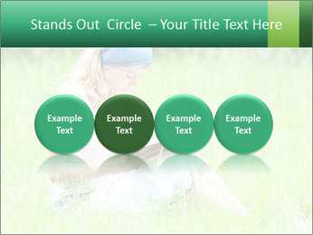 Young girl PowerPoint Template - Slide 76