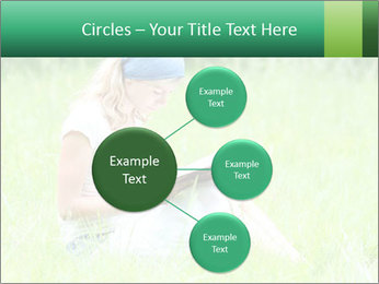 Young girl PowerPoint Template - Slide 79