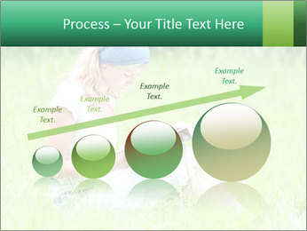 Young girl PowerPoint Template - Slide 87
