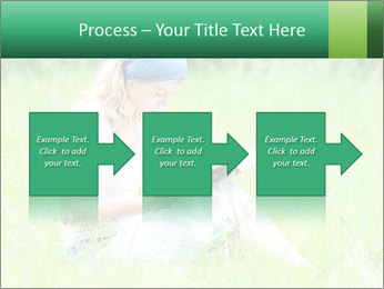 Young girl PowerPoint Template - Slide 88
