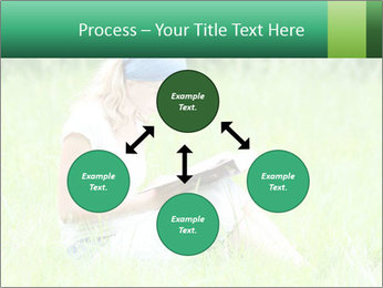 Young girl PowerPoint Template - Slide 91