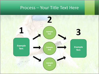 Young girl PowerPoint Template - Slide 92