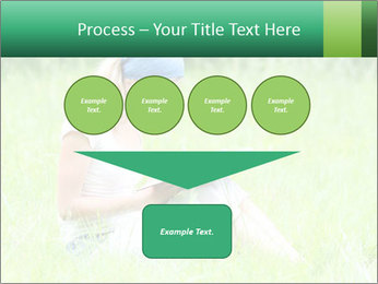 Young girl PowerPoint Template - Slide 93