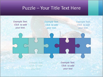 Man swimming PowerPoint Template - Slide 41