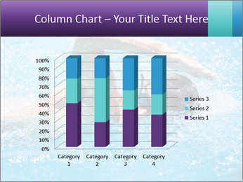 Man swimming PowerPoint Template - Slide 50