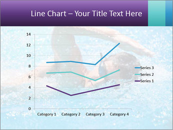 Man swimming PowerPoint Template - Slide 54