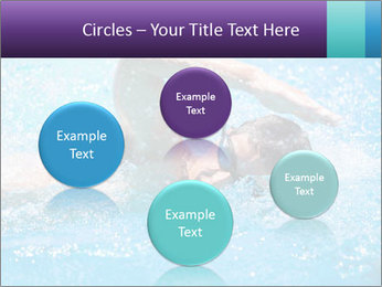 Man swimming PowerPoint Template - Slide 77