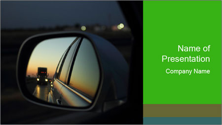 While traveling PowerPoint Template