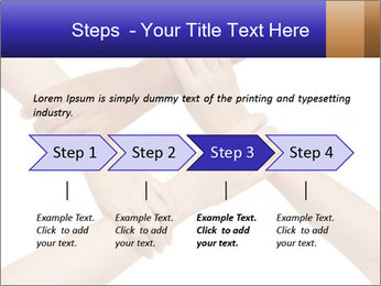 Hand coordination PowerPoint Template - Slide 4