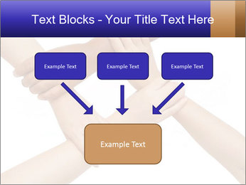 Hand coordination PowerPoint Template - Slide 70