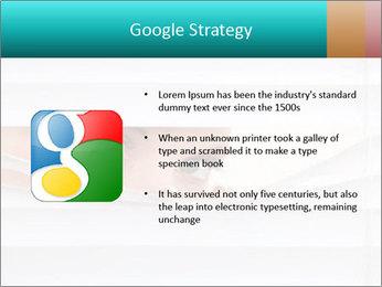 Woman peering PowerPoint Templates - Slide 10