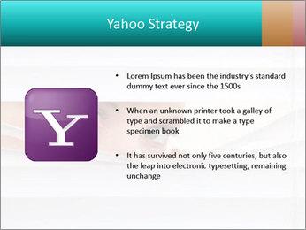 Woman peering PowerPoint Templates - Slide 11