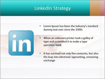 Woman peering PowerPoint Templates - Slide 12