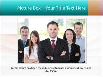Woman peering PowerPoint Templates - Slide 16