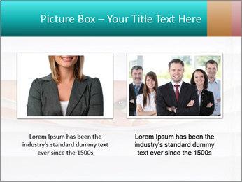 Woman peering PowerPoint Templates - Slide 18
